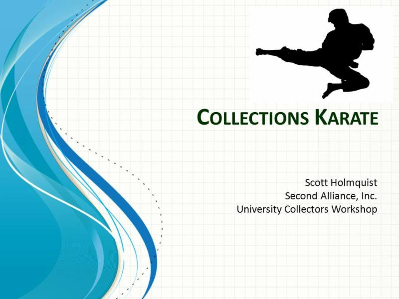 Jan 21 Collections Karate Part One